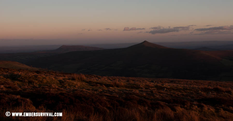 Wild Camping in the Brecon Beacons - Under a cold clear sky