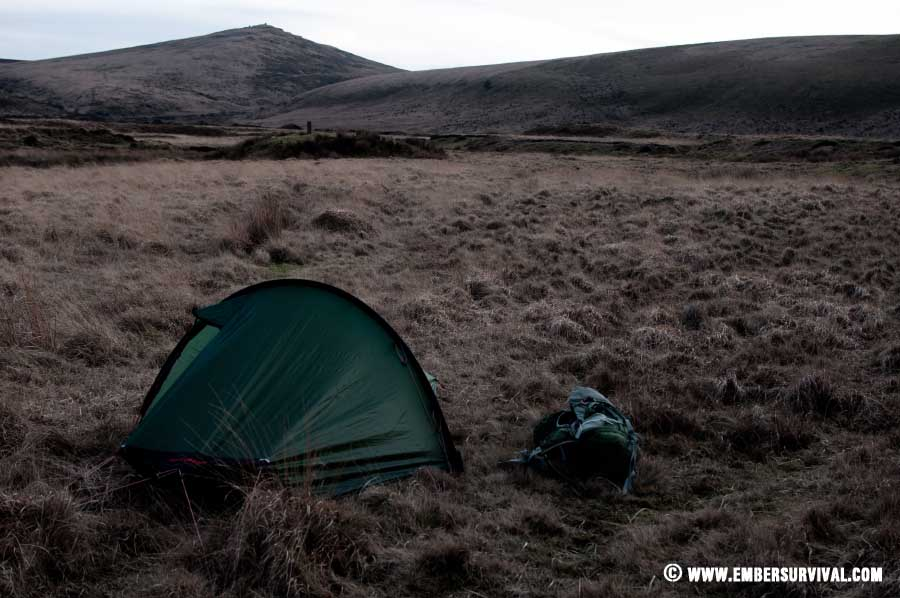 Wild camping on Dartmoor