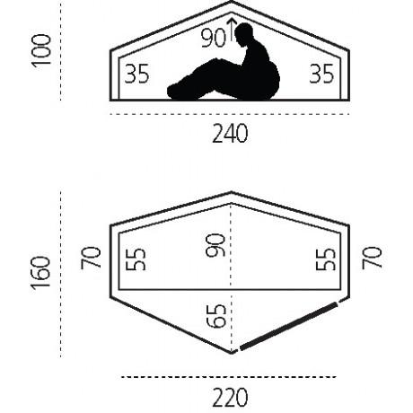 Fjällräven_Abisko_Lite_1_Review_Dimensions