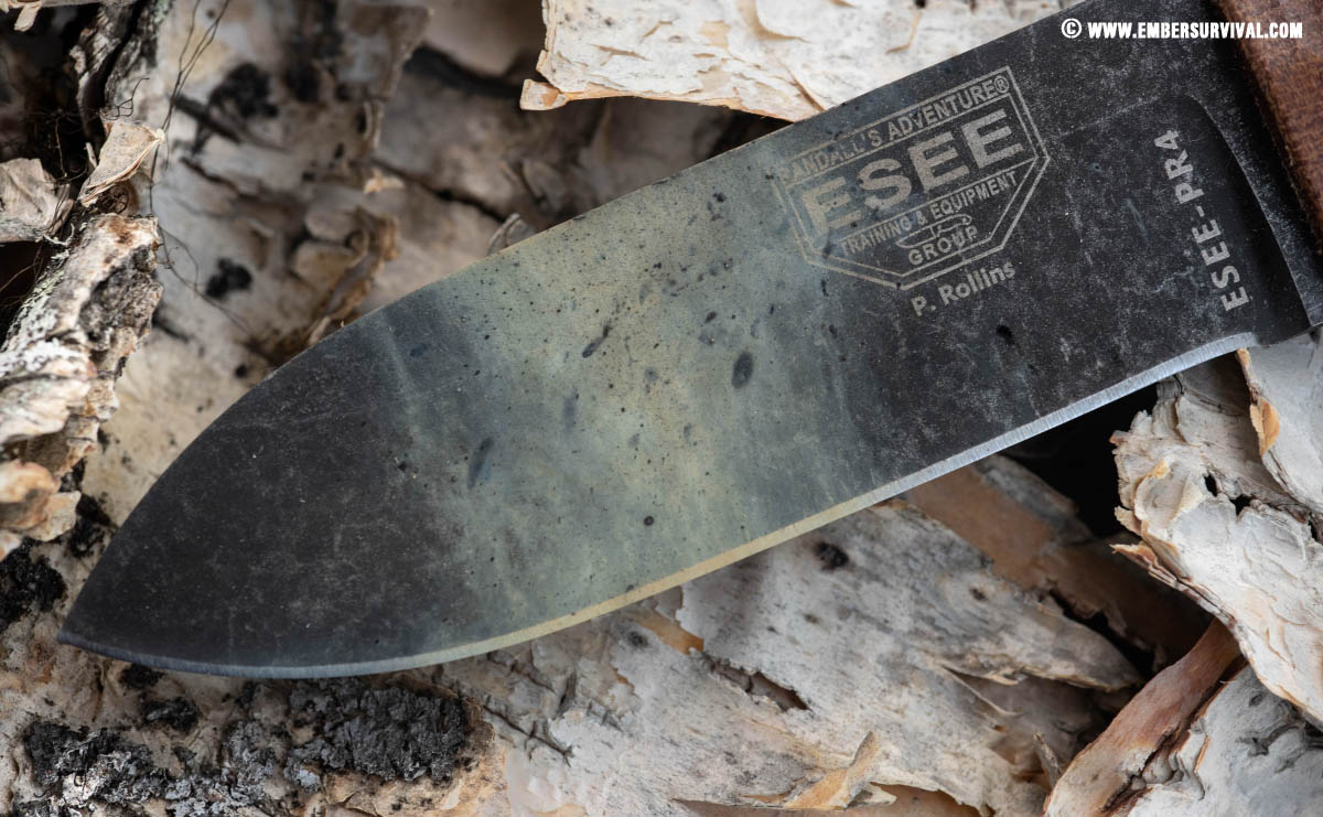 esee pr4 after fire steel use
