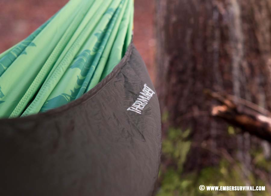 Thermarest Slacker Snuggler and Double Hammock