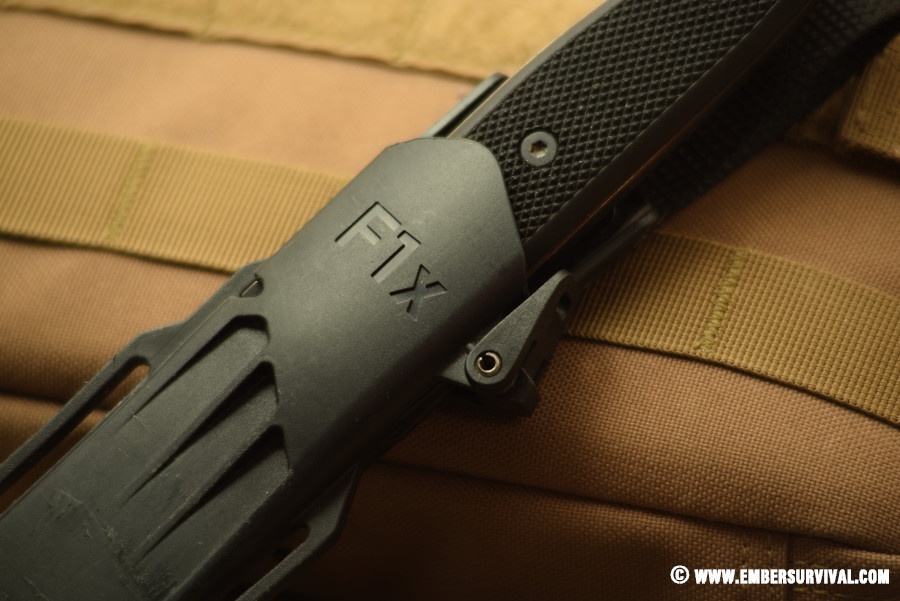Fällkniven F1xb sheath lock
